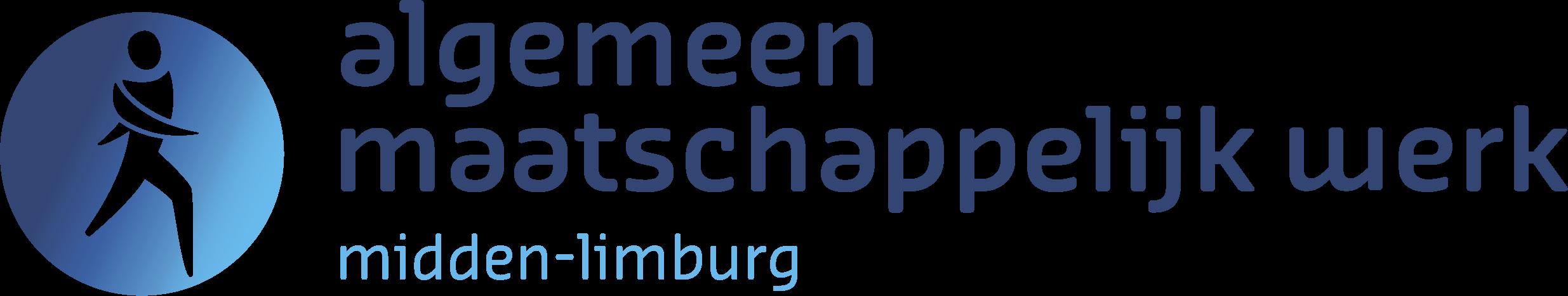 logo algemeen maatschappelijk werk midden limburg